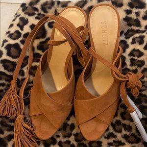 Schutz brand new shoes sandals